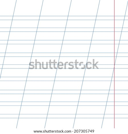 Blank Lined Notebook Lines Diagonal Lines Vector 457441243 – Blank Sheet of Paper with Lines