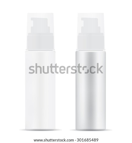 Blank Spray Bottle - stock vector