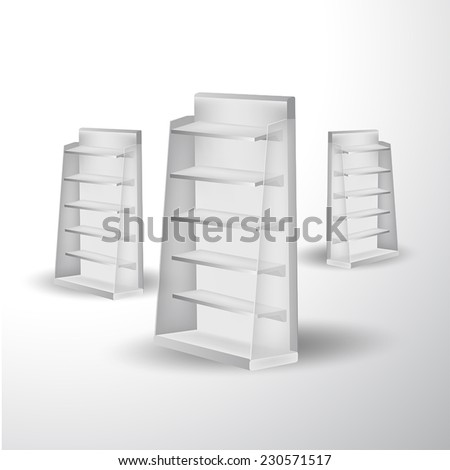 stand display vector