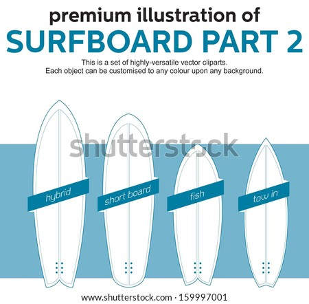 Fish surfboard stock images royalty free images vectors blank surfboards template part 2 pronofoot35fo Image collections