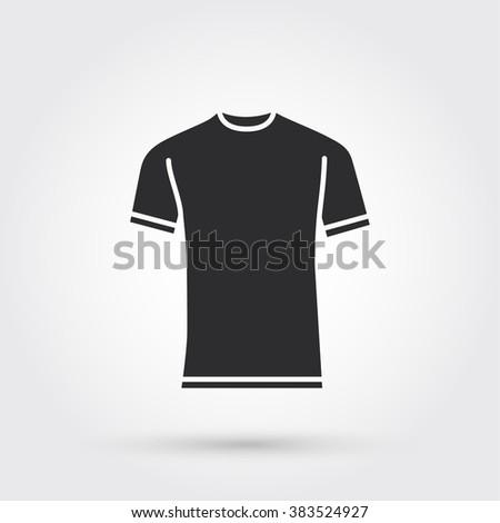 blank tshirt template stock vector royalty free 383524927