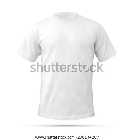 Blank t-shirts template - stock vector