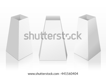 blank table tents