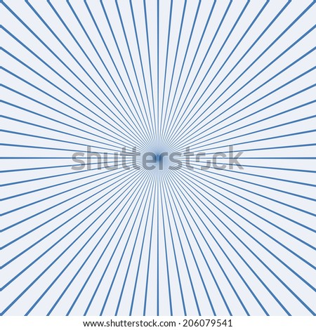 Blank Text Speed - Blue Lines graphic effects for comic on white background - stock vector