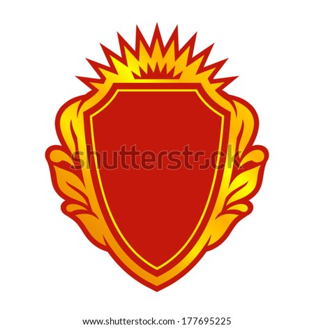 Blazon Branding Identity Corporate vector logo design template Isolated on a white background - stock vector