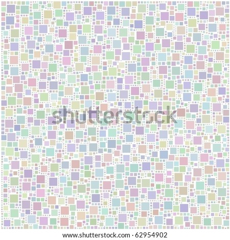 Bleached harlequin background of little squares