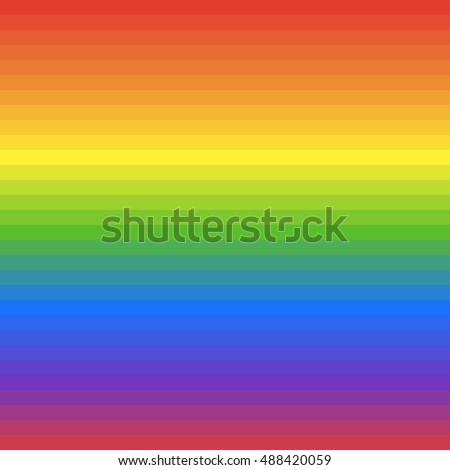 Blend colors of rainbow. LGBT flag background. Colorful vector illustration.