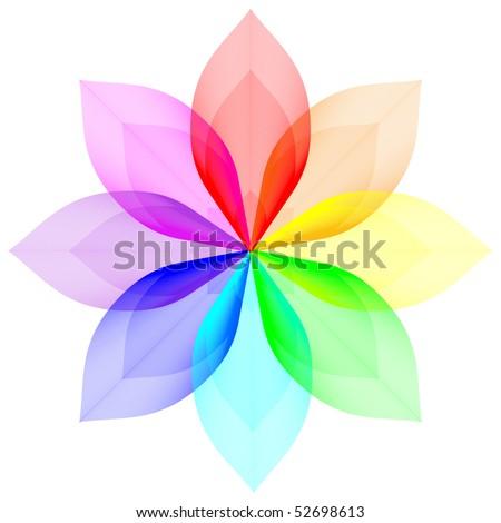 Blend gradient - stock vector