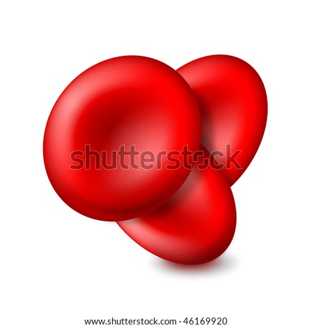 Blood cells vector icon - EPS 10 - stock vector