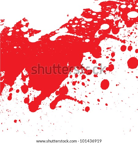 bloody background - stock vector