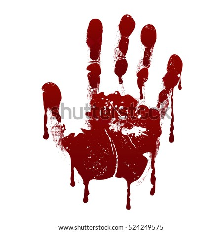 how to create bloody handprints photoshop
