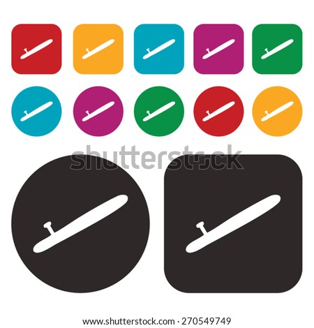bludgeon icon - stock vector