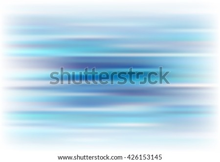 Blue abstract background. Beautiful backdrop for design banner, flyer, booklet, broadsheet, web. Vector illustration. Streaks, water, aqua, waves. Highlights on the edges - stock vector
