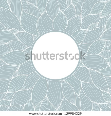 blue abstract background for text - stock vector