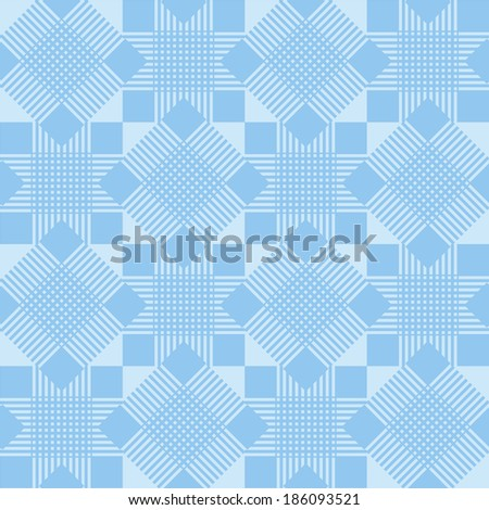 Blue abstract background pattern. Vector illustration. - stock vector