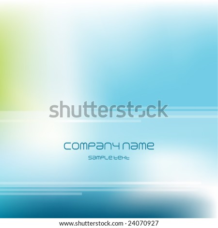 Blue abstract  background - trendy business website  template with copy space Nice artistic contemporary texture - stock vector