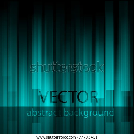 Blue abstract background.Vector eps 10 - stock vector