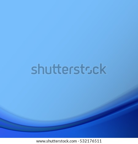 Blue abstract background. Vector illustration .