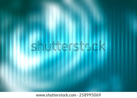 Blue abstract blur colored background with defocused vertical rays of light. - stock vector
