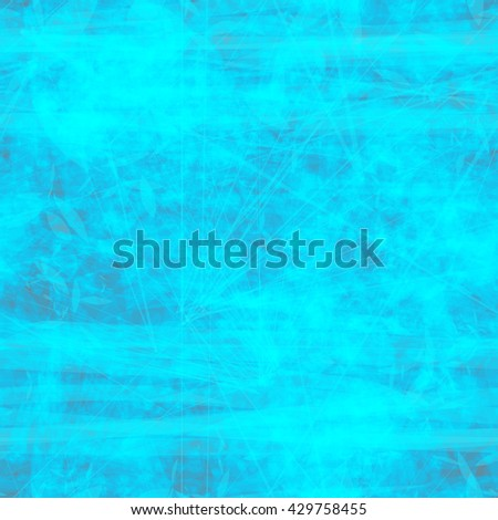 Blue. Abstract seamless background with streaks, scratches and spots. Grunge texture.  Highly detailed.  - stock vector