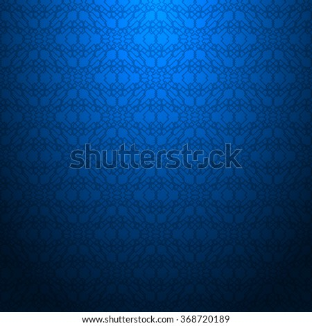 Blue abstract textured geometric pattern
