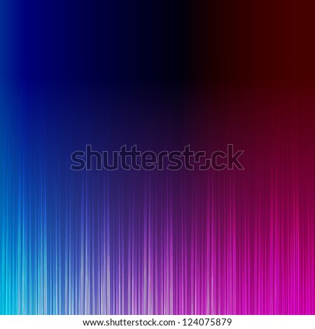 Blue and pink stylish equalizer - stock vector