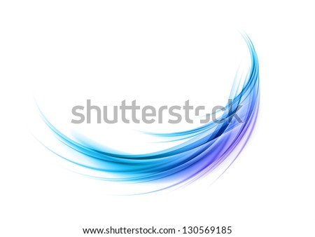 blue and purple round shape - stock vector