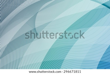 Blue and turquoise background with diagonal stripes. Horizontal minimal backdrop. Can be use for cover cataloges, business card or other print. Vector version  - stock vector