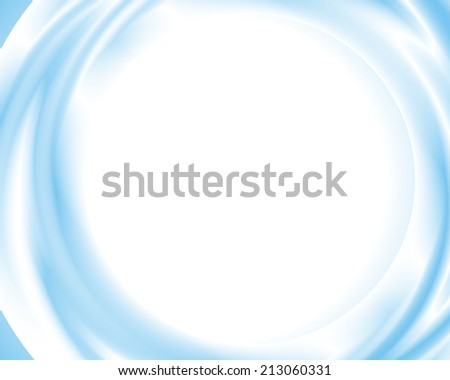 Blue and White Abstract Background. Used for Any Graphic Design. - stock vector