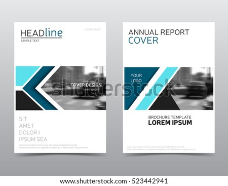 Business Report Cover Page - Template