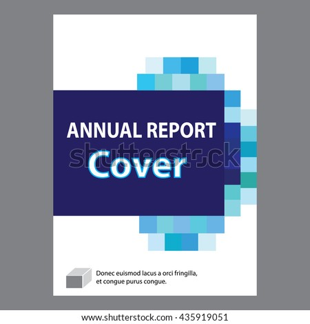 Report Cover Page Design – Annual Report Cover Page Template