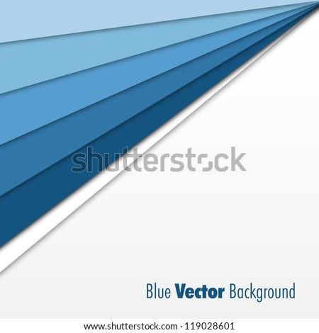 Blue Background - stock vector