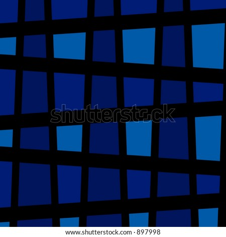 Blue background image - vector layers which can be editted