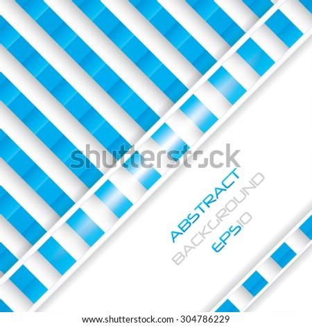 Blue business background.Vector illustration - stock vector
