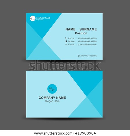 Blue business card vector backgroundflyer designpolygon stock blue business card vector backgroundflyer designpolygon backgroundname card template reheart Images