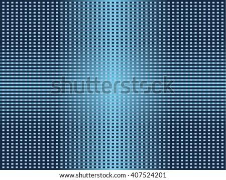 Blue cells,vector. - stock vector
