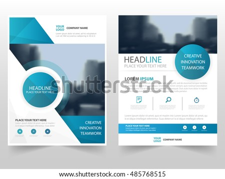 Annual Report Design Template Stock Images, Royalty-Free Images