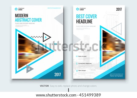 Business Report Cover Page Background Stock Images RoyaltyFree