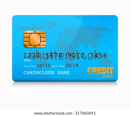 blue credit card