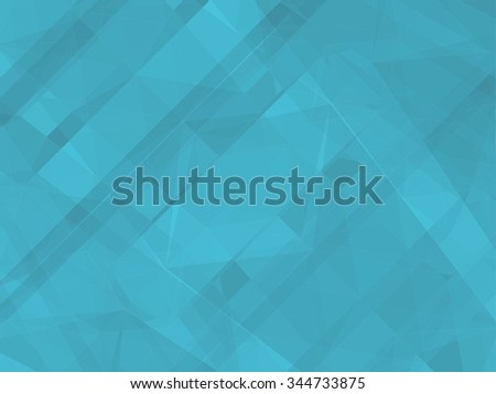 Blue Geometric Colorful Background Vector 172. Mosaic hipster background made of triangles and rectangles. Retro label design. Square composition with geometric shapes. Hipster theme label.  - stock vector