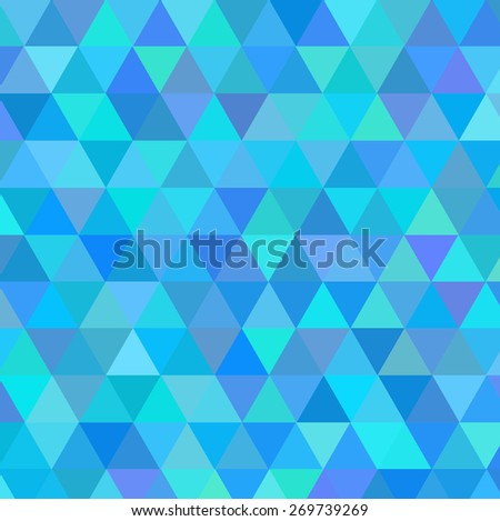 Blue  golden vector  ornament pattern background