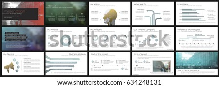 Blue-gray Elements for infographics on a white background. Presentation templates. Use in presentation, flyer and leaflet, corporate report, marketing, advertising, annual report, banner.