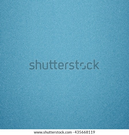 Blue jeans background seamless - stock vector