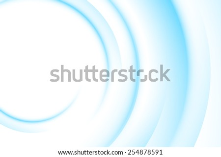 Blue light gradient abstract background with copy space - stock vector