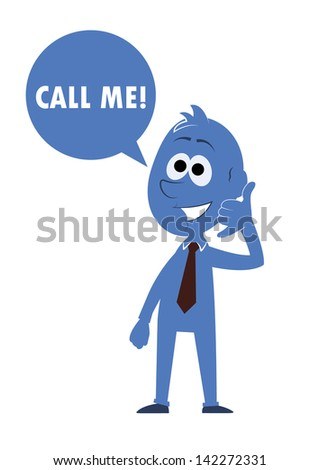 "KERIM's ""Blue man"" set on Shutterstock"