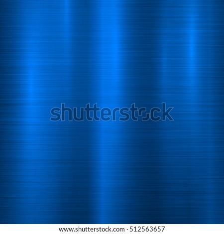 Blue Metal Technology Background Abstract Polished 512563657