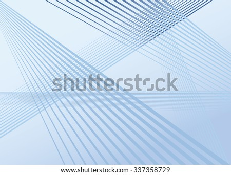 blue mobious wave stripe optical abstract design