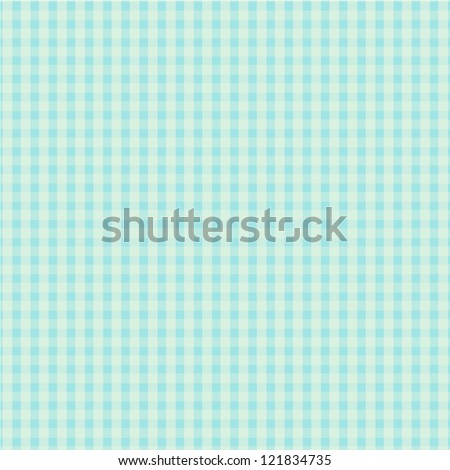 Blue Plaid Design - stock vector