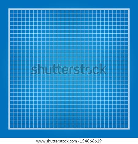 Blue Print Vector Texture - stock vector