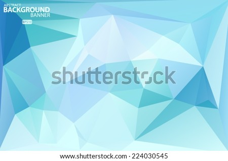 Blue, purple, pink geometric pattern, triangles background, polygonal design. Vector EPS 10 illustration. Vector EPS 10 illustration. - stock vector